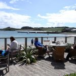 A good meal at The Ruin Old Grimsby Tresco